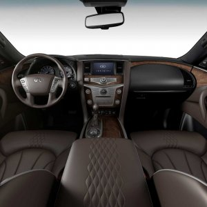 qx80 interior Limited